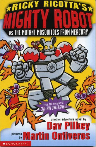 Mighty Robot vs the Mutant Mosquitoes from Mercury: No. 2 (Ricky Ricotta)