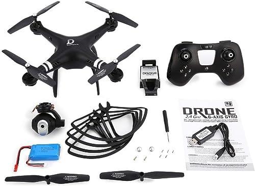 Obtén lo ultimo Garciasia X8 RC Drone 2.4G 2.4G 2.4G FPV RC Quadcopter Drone con altitud de cámara Ajustable Mantenga el Modo sin Cabeza 3D-Flip 18mins Vuelo Largo (Color  negro)  Las ventas en línea ahorran un 70%.