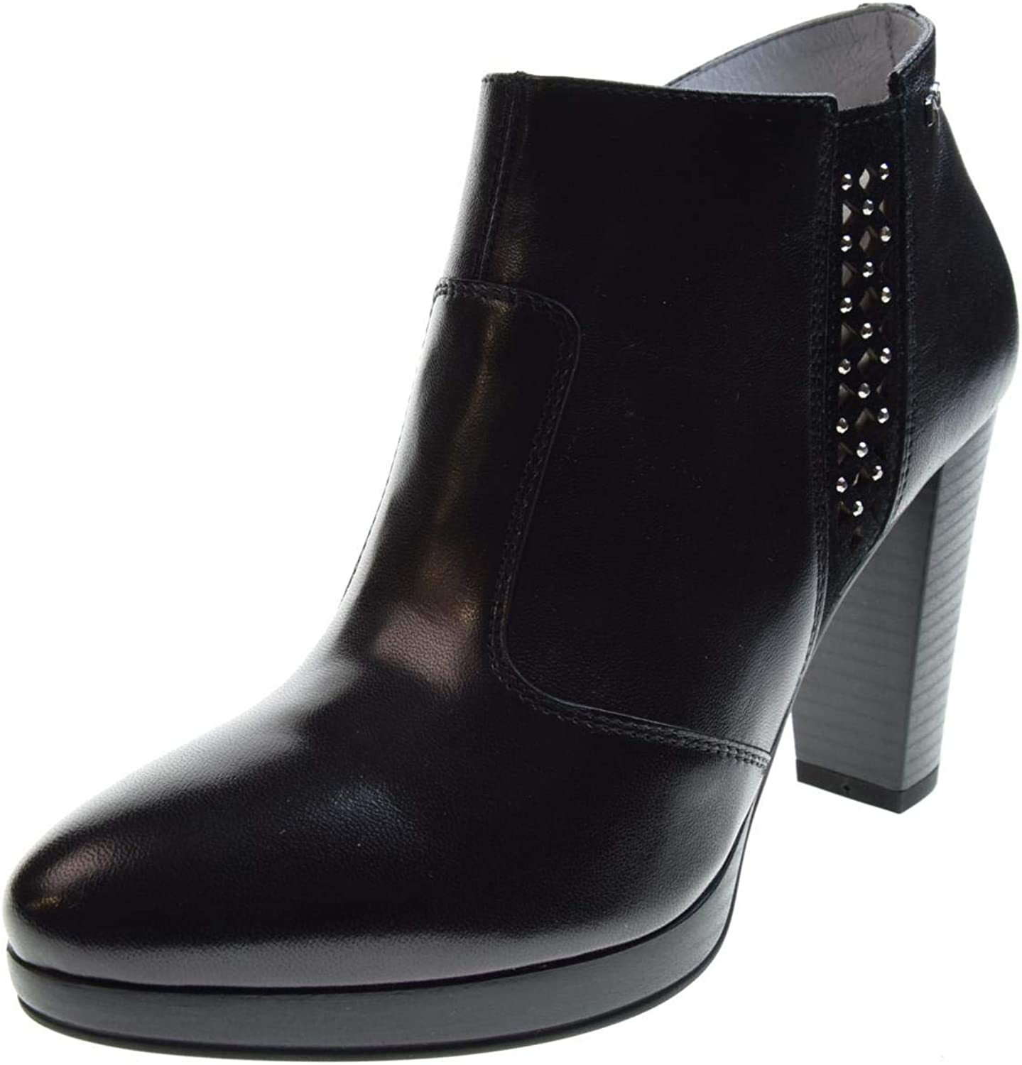 black GIARDINI women's shoes ankle boots with heel P907401D   100 size 37 Black