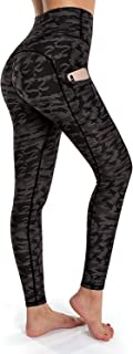 OUGES Women's Fall Winter Printed Stretchy Christmas Leggings Pants