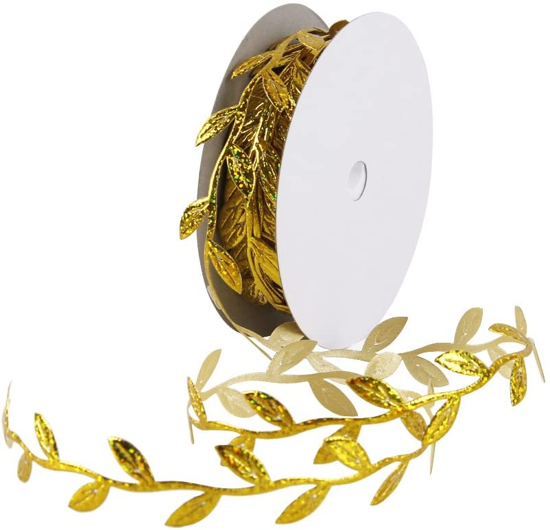 Olive Leaves Limited Special Price Leaf Mirror Leather Silver Sequins - Yards Year-end gift Tri 20