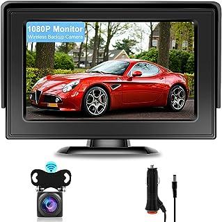 $43 » AHD 1080P Wireless Backup Camera Kit Hikity Waterproof Rear View Camera Digital Wireless Stable Signal Night Vision Revers...