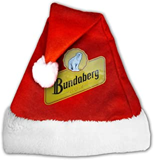 VY4AOS23 Bundaberg Rum Distressed Interesting Christmas Hat for Everybody Red