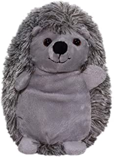 Plush Hedgehog Doll Super Soft Stuffed Animal Kawaii Japanese Toy Gray 7 Inches
