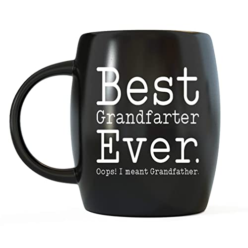 09f77d3ff31f Mug A Day - Funny Fathers Day Gifts for Favorite Grandpa Best Grandfarter  Ever Ceramic Coffee
