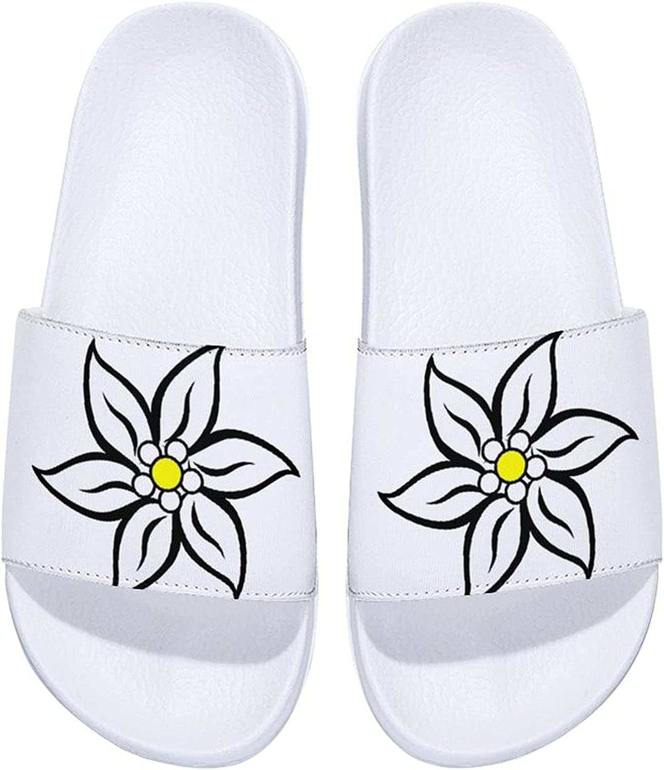 Inventory cleanup selling sale Edelweiss Men's and Women's Jacksonville Mall Comfort Indoor Slide Outdoor Sandals