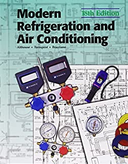 Modern Refrigeration and Air Conditioning (Modern Refridgeration and Air Conditioning) by Andrew D. Althouse (2003-08-01)