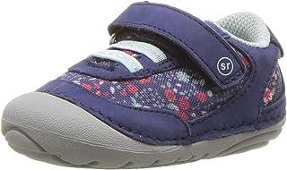 Stride Rite Girls Jazzy Baby Athletic Mesh Sneaker, Navy/Multi, 3 M US Infant