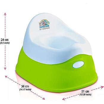 Lama Sam /& Friends orinal para beb/és de 2 partes funci/ón antideslizante Orinal desde aproximadamente 18 meses hasta aproximadamente 3 a/ños Agua