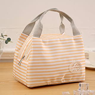Insulated Lunch Box Wide-Open Lunch Tote Bag Large Drinks Holder Thermal Snacks Organizer for Women Men Adults Office Work Picnic Hiking Beach Fishing,