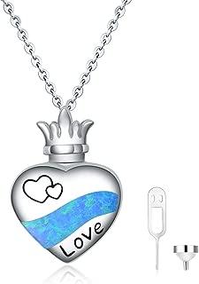 opal urn necklace