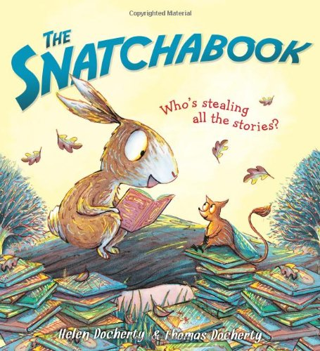 Image of The Snatchabook: A Funny Rhyming Read Aloud Bedtime Story For Kids