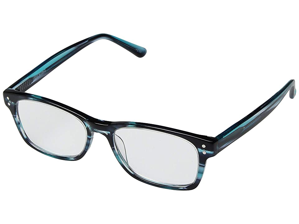 Corinne McCormack Edie Reading Glasses (Teal) Reading Glasses Sunglasses