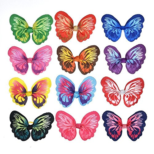 Yagopet Butterfly Hair Bows