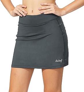 گلف فعال ورزشی زنان Baleaf Lightweight Skirt با جیب برای اجرای تمرین گلف تنیس