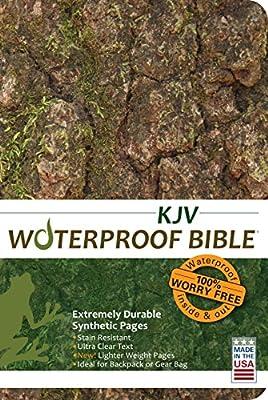 Waterproof Bible - KJV - Camoflage