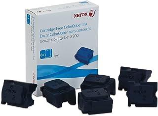 Genuine Xerox Cyan Solid Ink Sticks for the ColorQube 8900 (6 per box), 108R01014