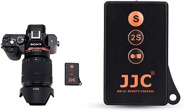 JJC RMT-DSLR1 IR Wireless Remote Control for Sony A6000 A6100 A6300 A6400 A6500 A6600 A7 III A7 II A7 A7S II A7S A7R IV A7R III II A7R A9 NEX-6 NEX-7 A99 II A99 A77 A65 A57 A55 and More Sony Camera