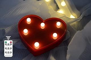Best light up red heart Reviews