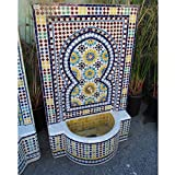 Design MIX Furniture Mosaic Tile Fountain, Morocco