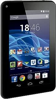 Tablet Multilaser M7S Quad Core Preto Android 4.4 Kit Kat Dual Câmera Wi-Fi Tela Capacitiva 7 Pol. Memória 8GB - NB184
