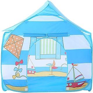 Heqianqian Baby tipi tält barn camping lekhus leksakshus inomhus eller utomhus & lektält enkel utomhus fyra hörn hus leksa...