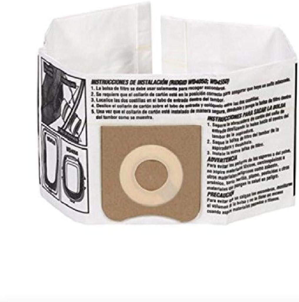 RIDGID Popular 5% OFF 23738 VF3501 Wet Dry Bags Vac Dust High-Efficiency D
