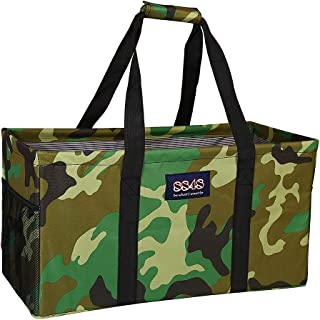 All Purpose Utility Tote/Utility tote/Large tote/Beach Bag/Reusable Shopping Bags (Camouflage-H004, 23