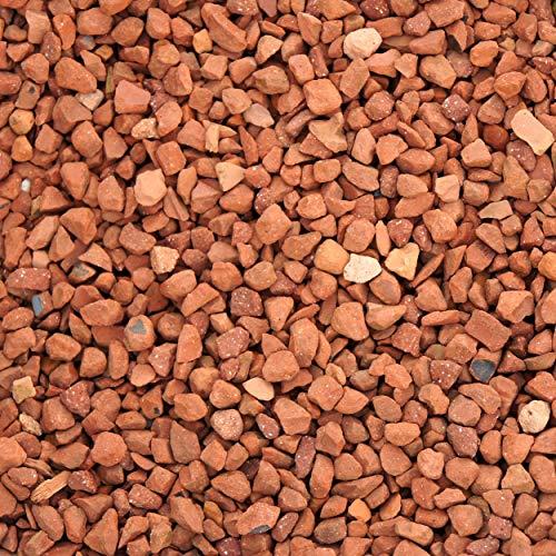 Ziersplitt Terrakottasplitt Ziegel-Rot 8-16 mm a 20 kg