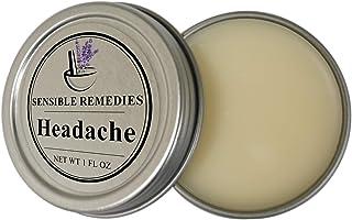 Headache Migraine Relief Balm Natural Essential Oil Vegan Salve for Headache and Migraine Pain Fast Action - Sensible Reme...