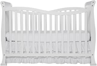 Dream On Me Violet 7 in 1 Convertible Life Style Crib in White, Greenguard Gold Certified