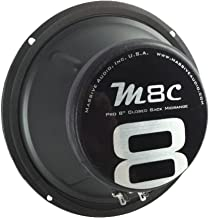 $39 » Massive Audio M8C - 8 Inch, 300 Watts, Pro Audio Midrange Closed Back Speaker for Cars, Stage and DJ Applications. Sold In...