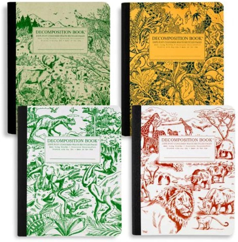 Decomposition - Notizbuch - 4er Pack - je 80 80 80 Blatt - Wild Style B00EFDQ048    Deutsche Outlets  c23ce6
