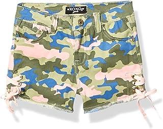 XOXO Girls Stretch Twill Short Casual Shorts