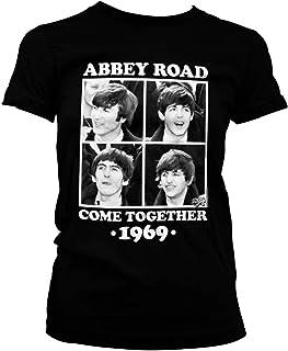 Oficialmente Licenciado Abbey Road - Come Together Mujer Camiseta