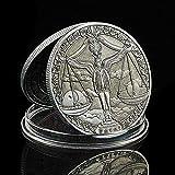 YPZMYGQ 2020 Euro Constelación Libra Moneda RARA Medalla Zodíaco Colección de Monedas de Animales Valor con Caja de Lujo
