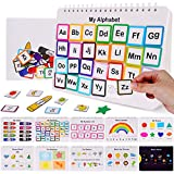 HAN-MM Busy Board Busy Book Sensory Toy Toddler Learning Binder Sturdy Montessori Toy for Toddlers Autism Toys Book Toddler Activity Board Educational Learning Toys