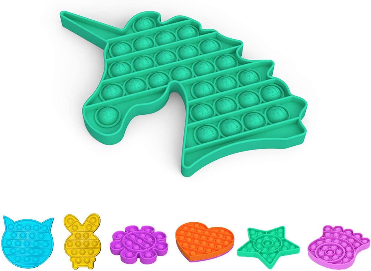 LXXIASHI Pop Fidget Toys for Ranking integrated 1st place Bubble Anxiety Sensor Push Max 72% OFF