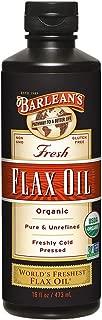 Barlean's Fresh Organic Flax Oil, 16 Fl Oz