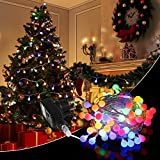 Cadena de Luces - 10M 100 LED Guirnalda Luces Cuerda Luces Bombillas Multicolor Decoración Interior, Jardines, Casas, Boda, Fiesta de Navidad