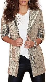 cheap gold sequin blazer