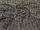 Minerva Crafts Tweed-Beschichtung, Meterware,