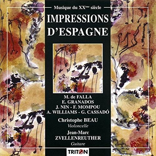 Trois Arabesques d'après Antoni Gaudi pour violoncelle et guitare: III. Casa Batllo