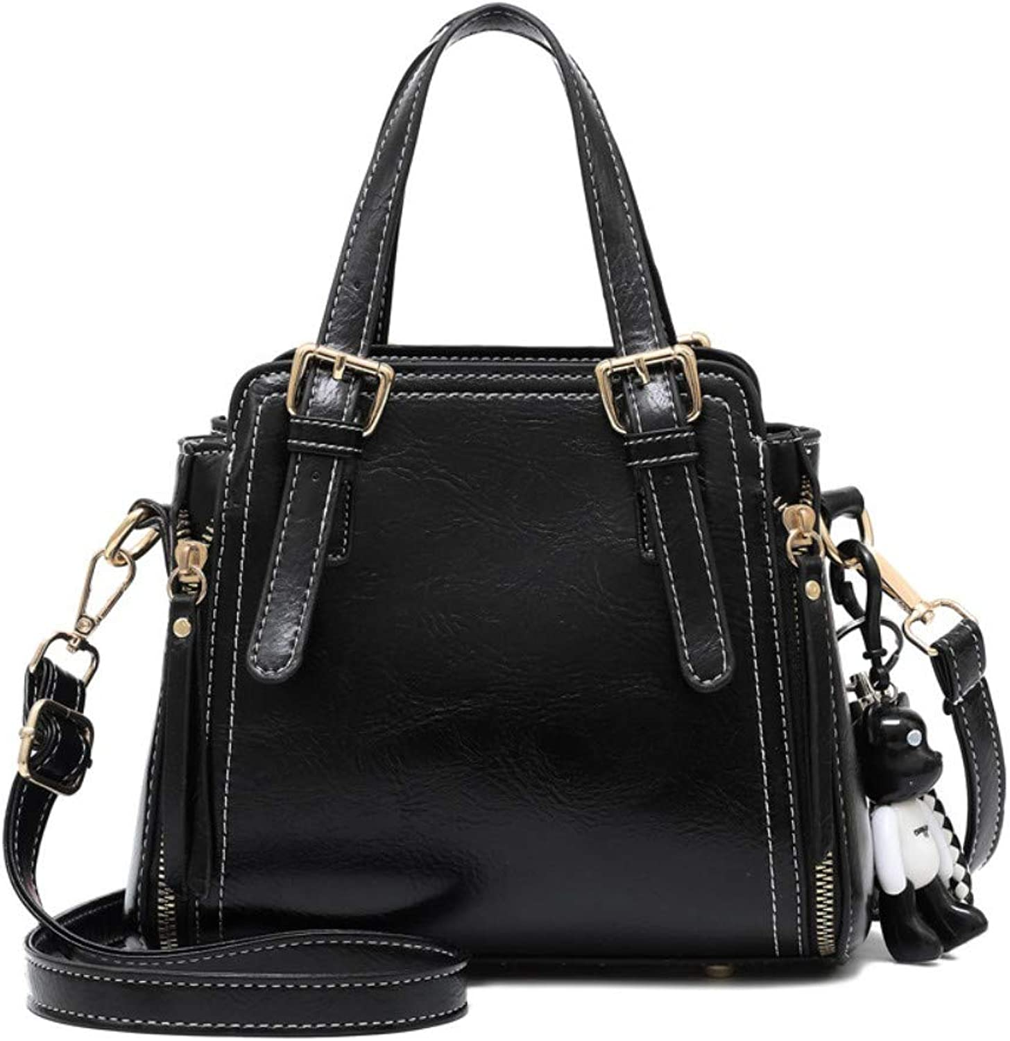 Z.H-H Wild Fashion, Small Fresh Ladies, Casual, Simple, Large-Capacity Personality Shoulder Bag Shoulder Bag
