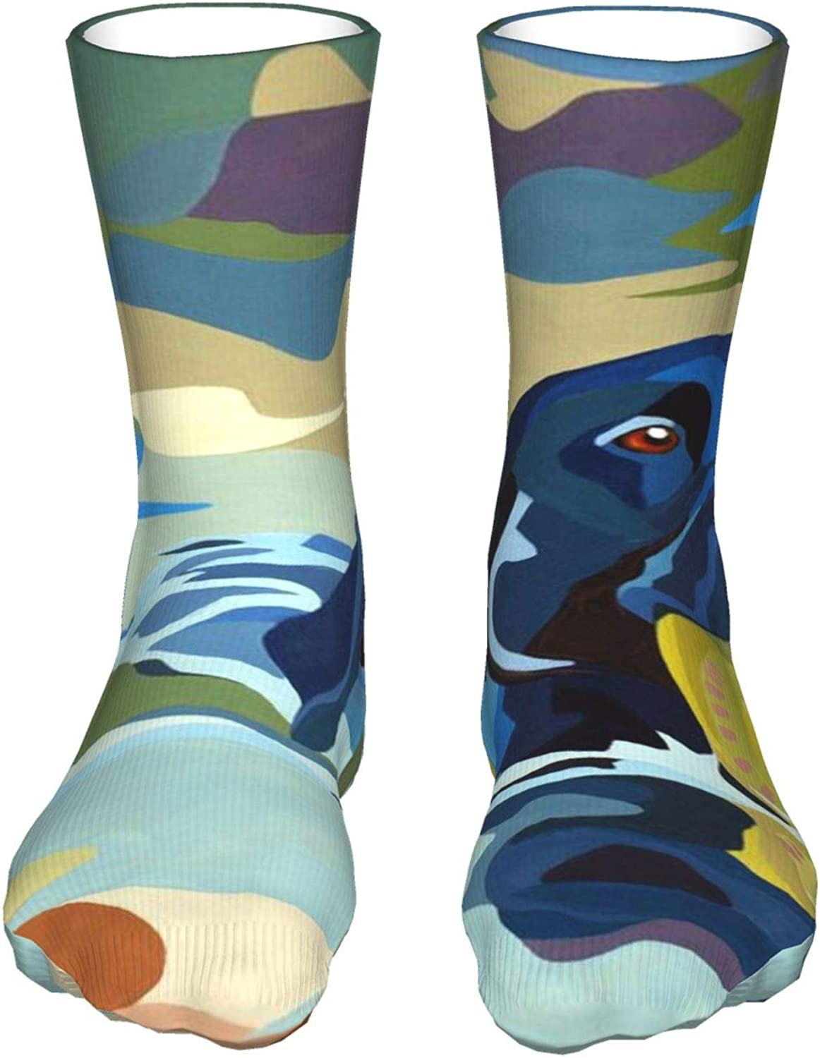 Abstract Dogteen'S Sockings Boy'S Soft Casual Socks New 5 ☆ very popular arrival Breathabl S