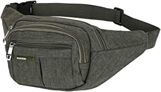 COOLEAD Bolso Cintura Hombre Militar T/áctico Mochila Cintura Unisex Durable Impermeable Waist Pack Tela Oxford Macuto Senderismo con Bosillo de Botella Ri/ñonera de Marcha para Viaje Bicicleta Camping