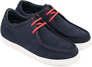 Zapatos de Hombre con Alzas Que Aumentan Altura hasta 7 cm. Fabricados en Piel. Modelo Oregon