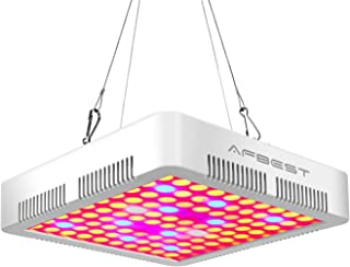 Gutebote 300W Grow Light LED - Full Spectrum with UV & IR for Indoor Hydroponics Greenhouse Plants Veg Flower and Bloom
