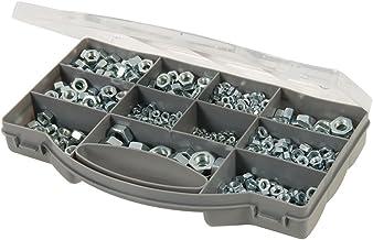 Fixman 771284 zeskantmoeren assortiment 1000-delig, zilver