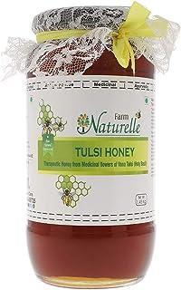 Farm Naturelle-Virgin Raw Natural Unprocessed Tulsi Forest Flower Honey - 1.45 KG Big Glass Jar (Ayurved Recommended)-Huge...